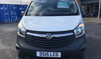 2015 -Vauxhall Vivaro LWB – DS15 LCG full
